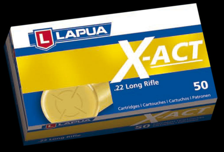 Lapua - .22LR X-Act - Lapua - Box of 50