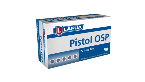 Lapua - .22LR - Pistol OSP - Box of 50
