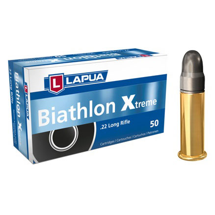 Lapua - .22LR Biathlon Xtreme - Box of 50