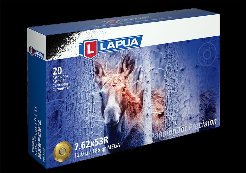 Lapua - Ammunition 7.62x53R 185gr. Mega - Box of 20