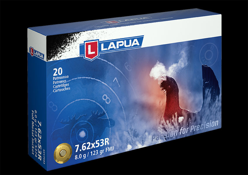 Lapua - Ammunition 7.62x53R 123 gr. FMJ - Box of 20