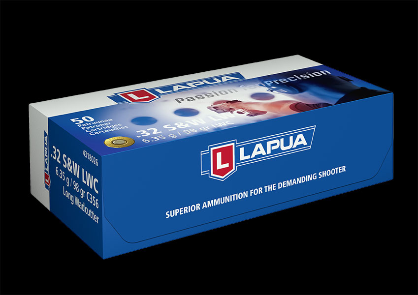 Lapua - Ammunition .32 S&W 98gr. LWC - C356 - Box of 50