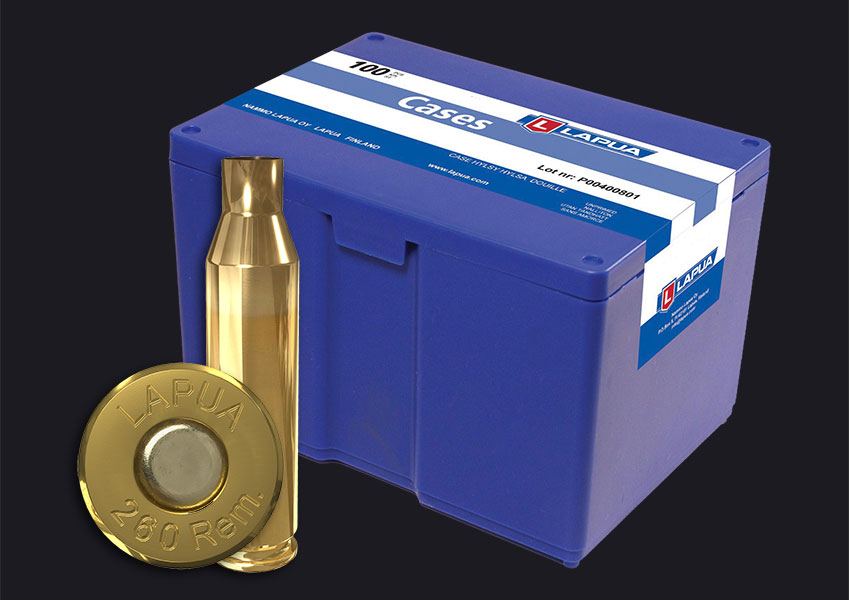 Lapua - .260 Rem. Reloading Cases - Box of 100