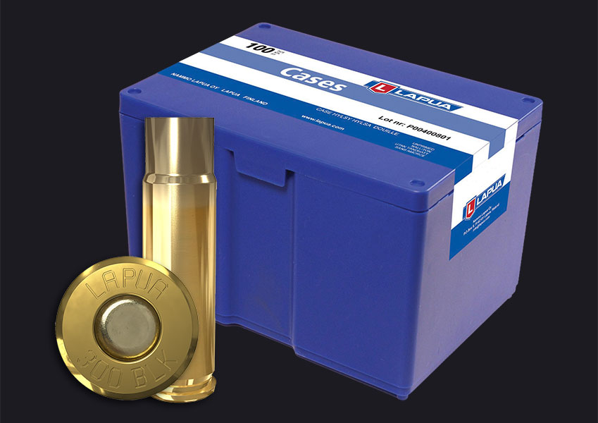Lapua - .300 AAC BlackOut Reloading Cases - Box of 100