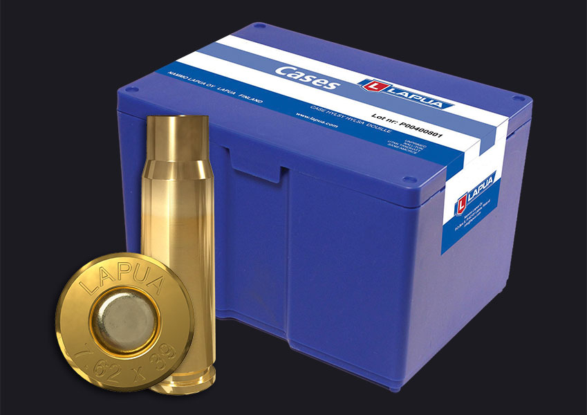 Lapua - 7.62 x 39 Reloading Cases - Box of 100