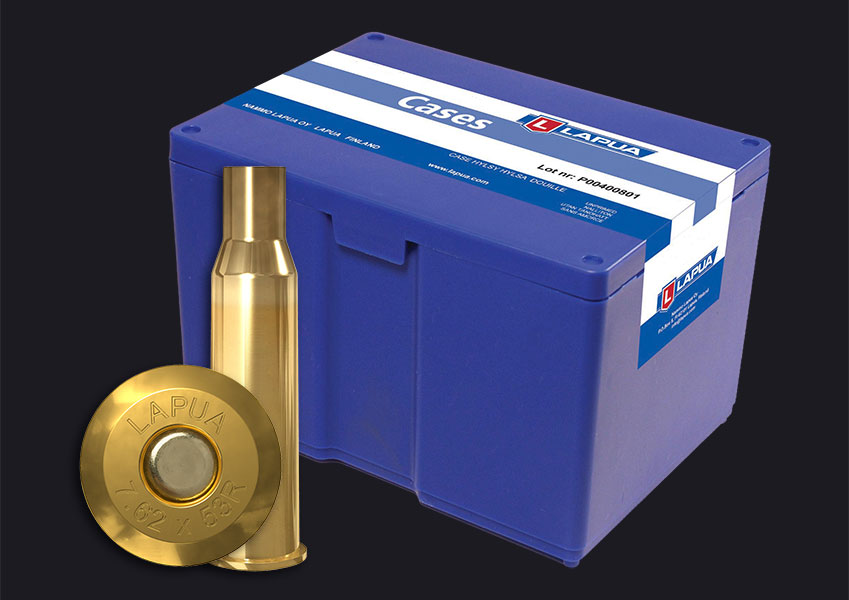 Lapua - 7.62 x 53R Reloading Cases - Box of 100
