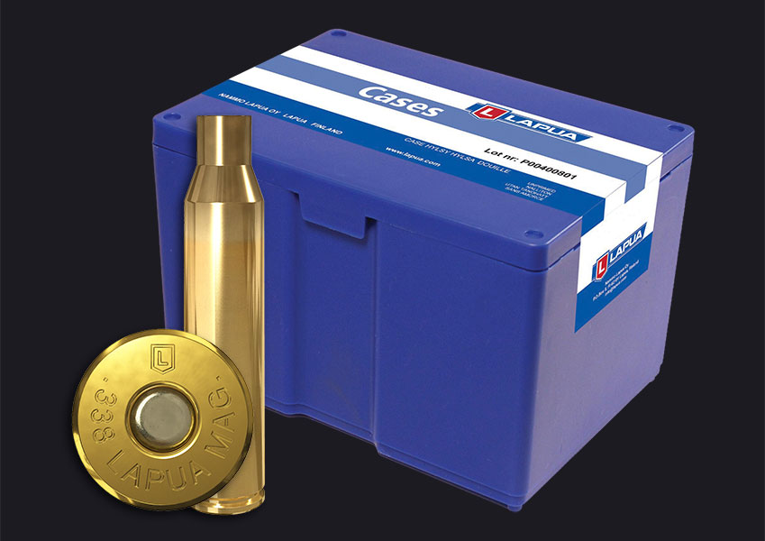 Lapua - .338 Lapua Mag. Reloading Cases - Box of 100