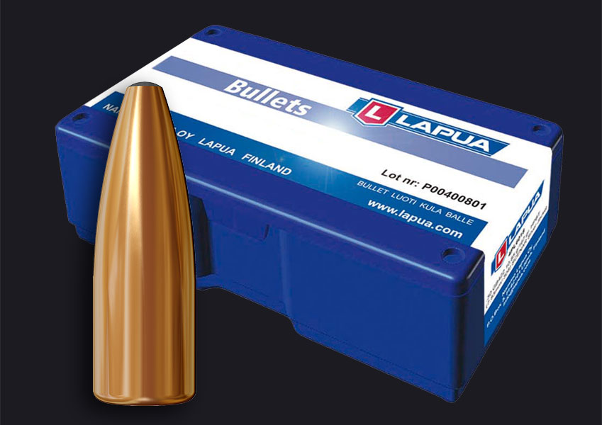 Lapua - .224, 55gr. (3.6g) FMJ - Lapua E539 - Box of 100