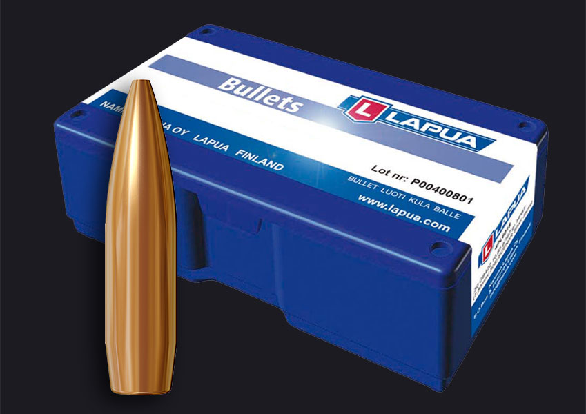 Lapua - .224 Rem. 69gr. (4.5g) Scenar - Lapua GB541 - Box of 100