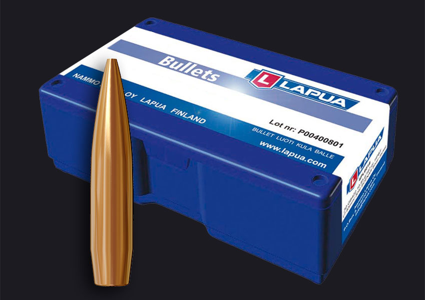 Lapua - Bullets, .224, 69gr. OTM Scenar-L - GB544 - Box of 100