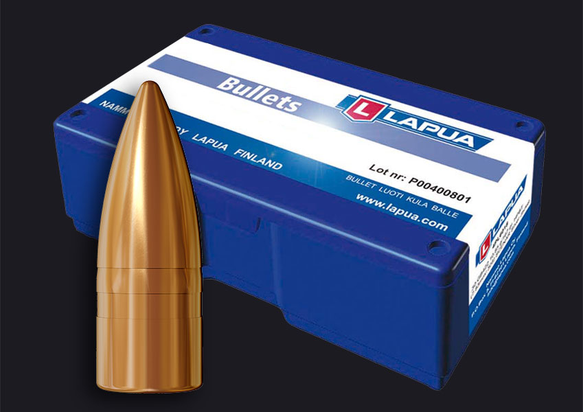 Lapua - Bullets, .30, 123gr. FMJ - S374 - Box of 100