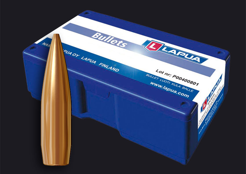 Lapua - Bullets, .30, 155gr. Scenar - GB491 - Box of 100