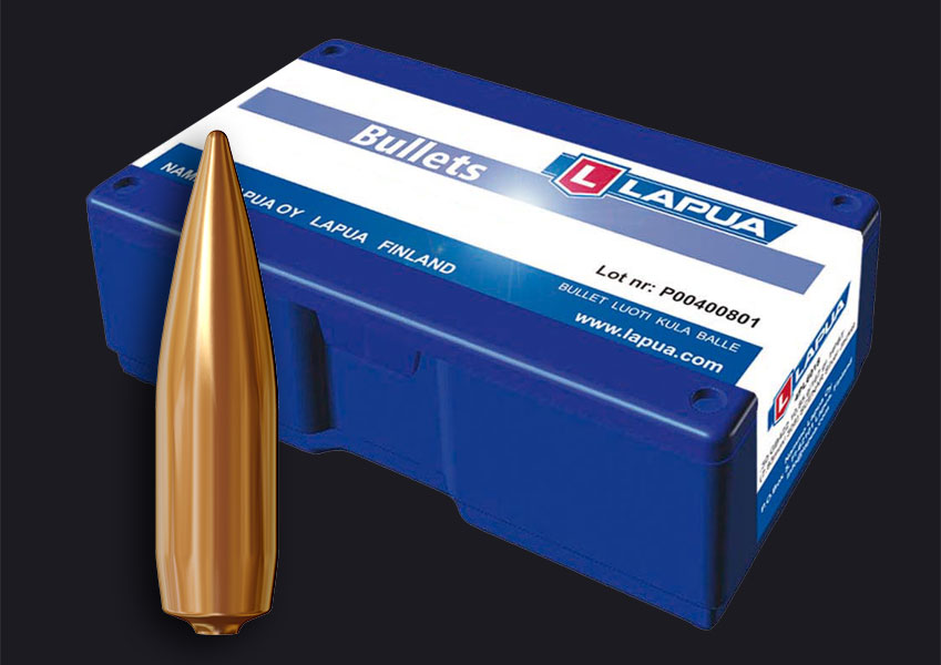 Lapua - .30, 170gr. (11g), Lock Base - Lapua B476 - Box of 100