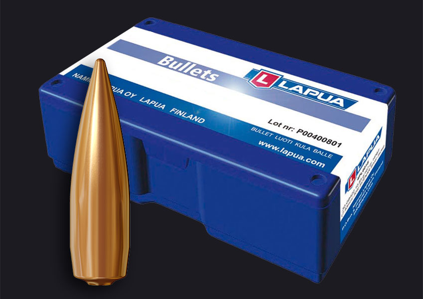 Lapua - .30, 150gr. (9.72), Lock Base - Lapua B466 - Box of 100