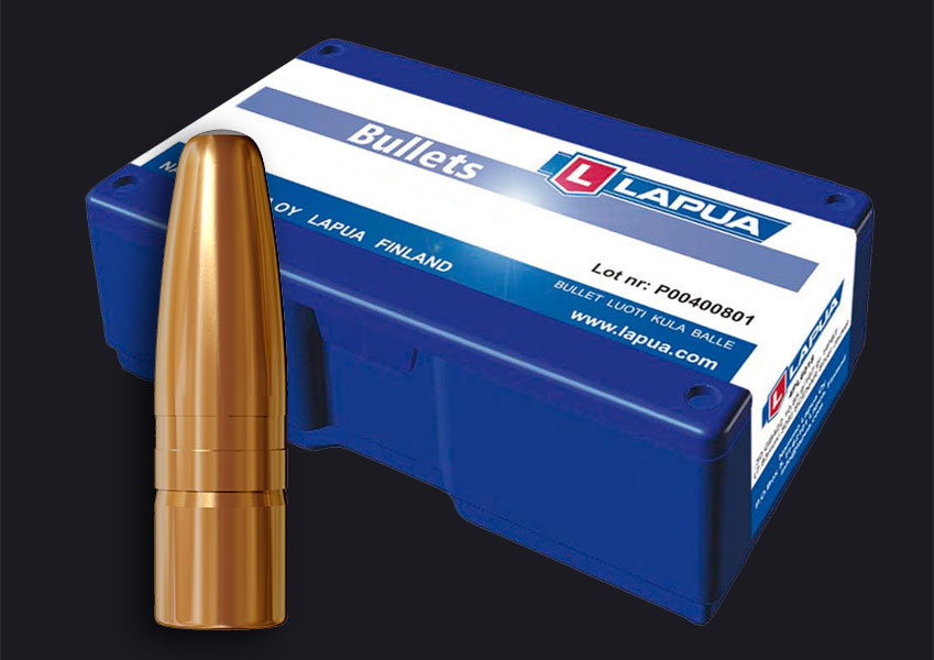 Lapua - .30, 185gr. (12g), Mega - Lapua E415 - Box of 100
