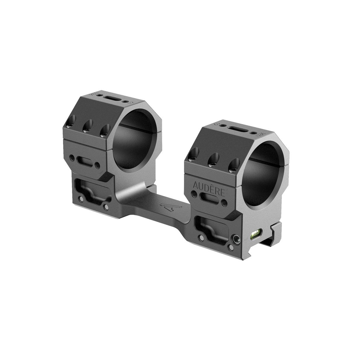 "Audere - Adversus Scope Mount - 34 mm - High (38mm/1.5"") - 0MOA"
