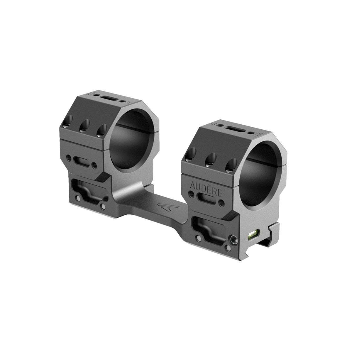 "Audere - Adversus Scope Mount - 34 mm - High (38mm/1.5"") - 20MOA"