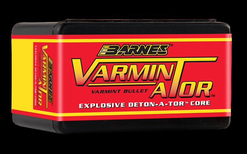 Barnes - Bullets .224, 50gr Varminator HP Flat Base - Box of 100