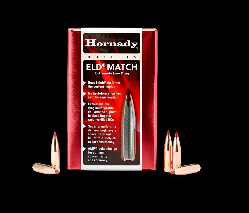 Hornady - Bullets - 6.5mm (.264) 147gr ELD Match - Box of 100