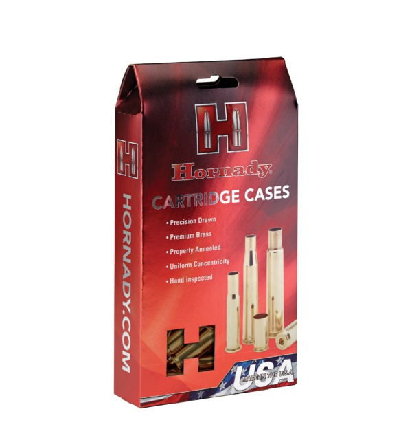 Hornady - Brass - 250 Savage Reloading Cases - Box of 50