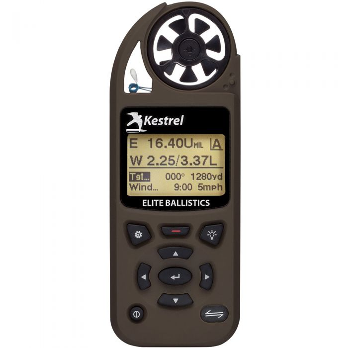 Kestrel 5700 Elite Weather Meter w Applied Ballistics & LiNK FDE