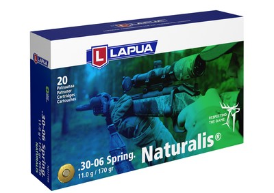 Lapua - Ammunition .30-06 Springfield 170gr Naturalis- Box of 20