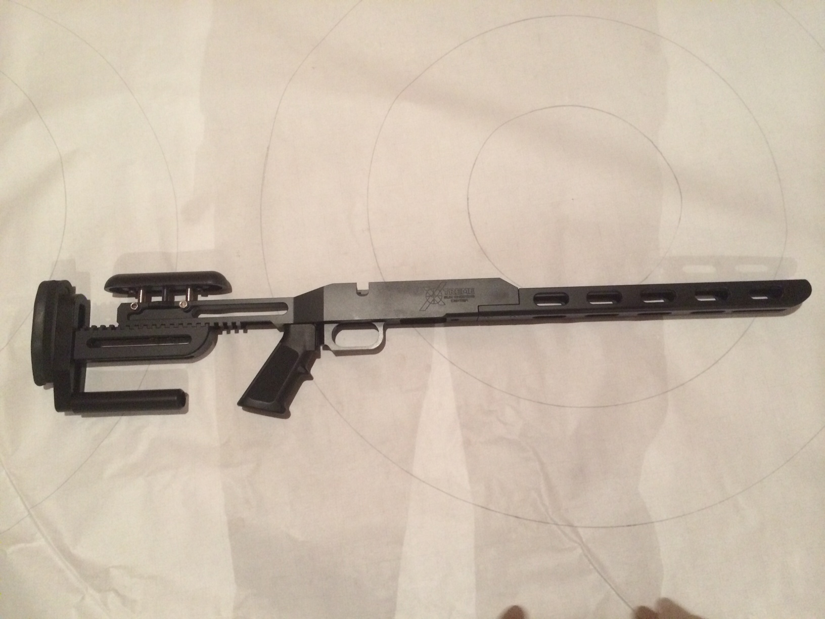 Xtreme Gun - Chassis, Borden Rimrock, Single Shot - Black